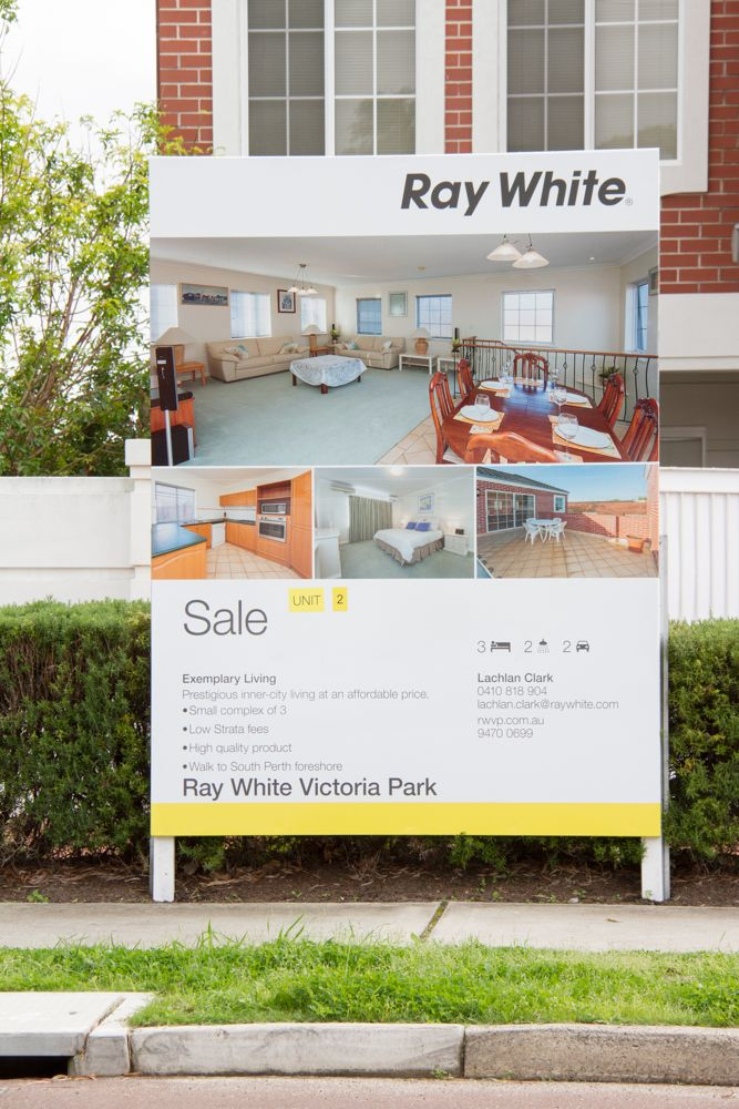Ray White Sale sign Real Estate Advertising Pinterest Sale - house for sale sign template