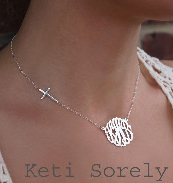 Hey I Found This Really Awesome Etsy Listing At Https Www Etsy Com Listing 166437456 10k Monogram Initial Necklace Monogram Necklace Monogram Necklace Gold