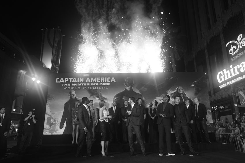 Our Favorite Looks From the Captain America: The Winter Soldier Red Carpet | Disney Style