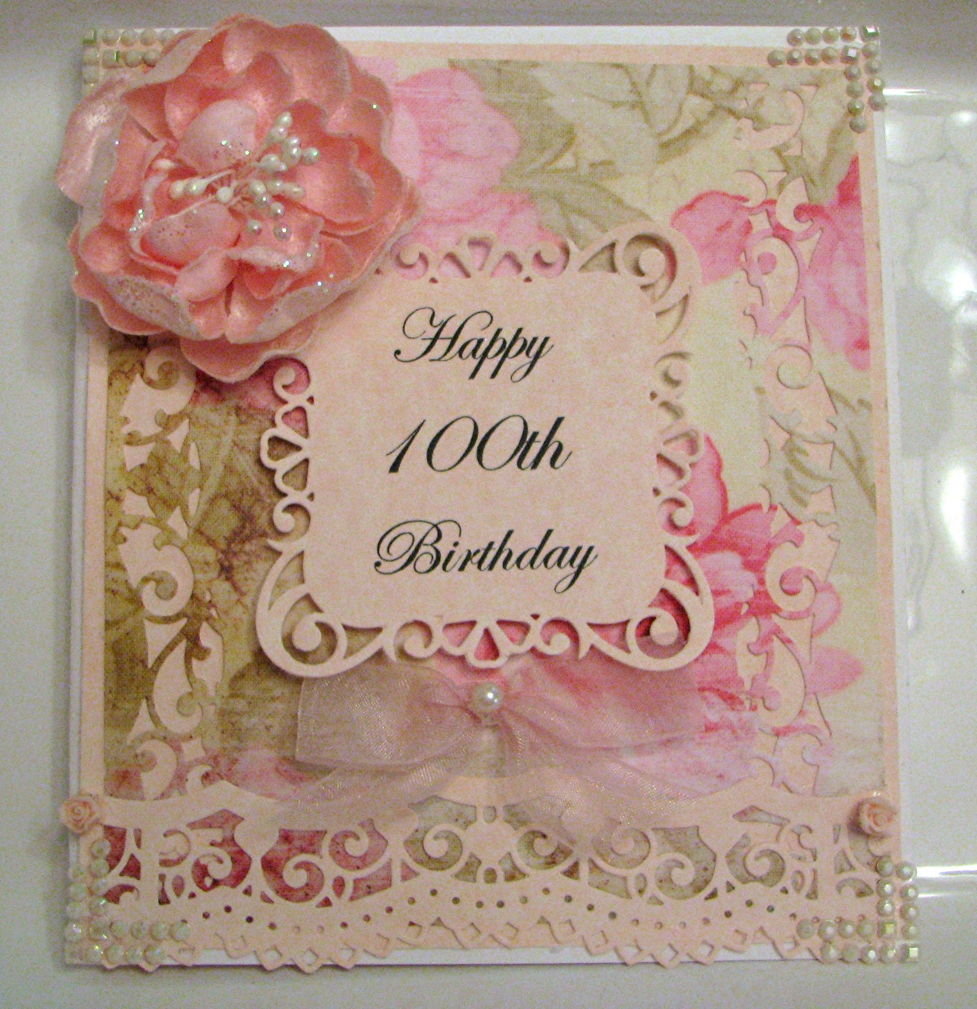 Made Especially For My Aunt My Card Creations Pinterest Big