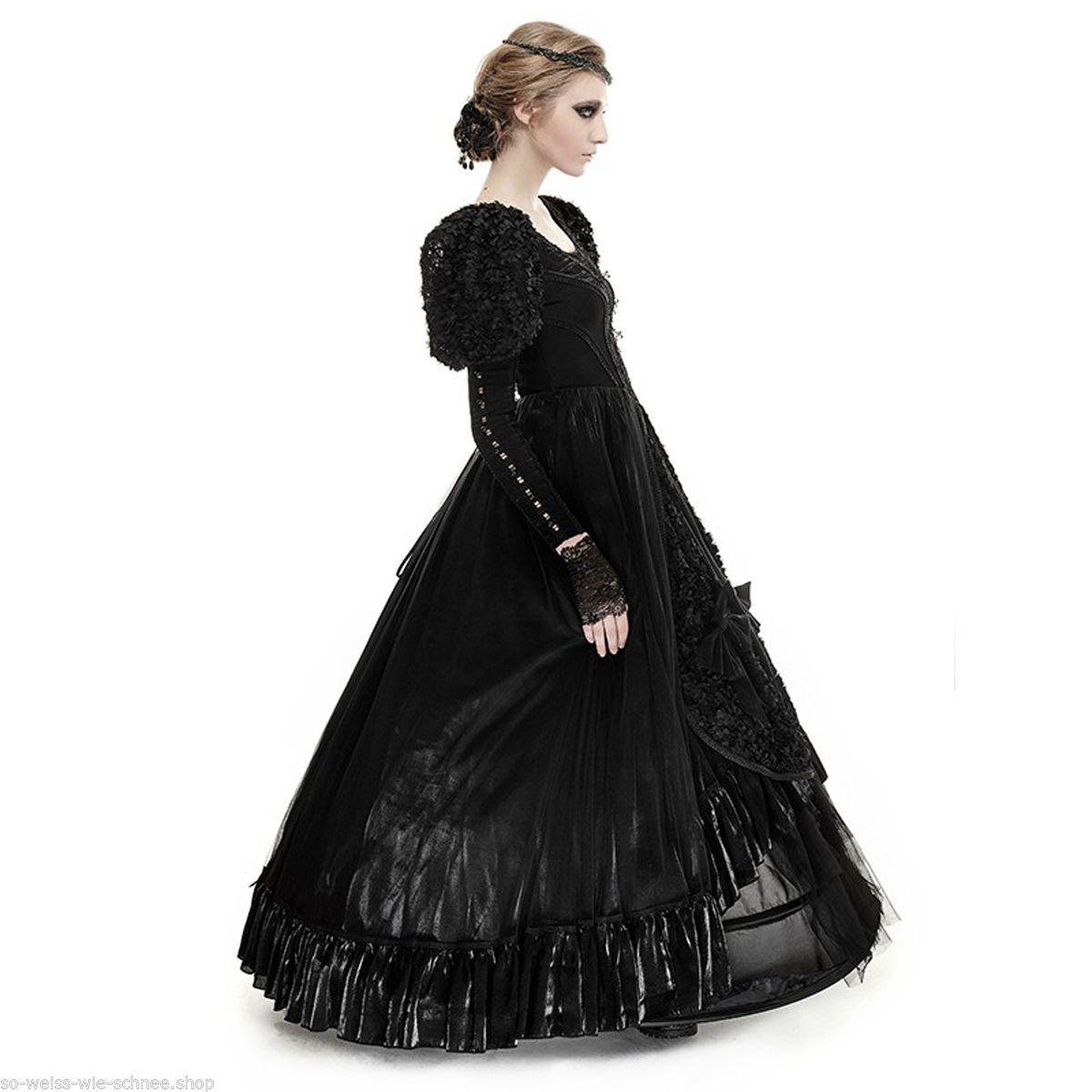 punk rave gothic hochzeit abendkleid victorian samt ball