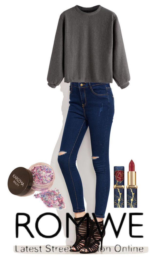"""""""Romwe"""" by alisalisss ❤ liked on Polyvore"""