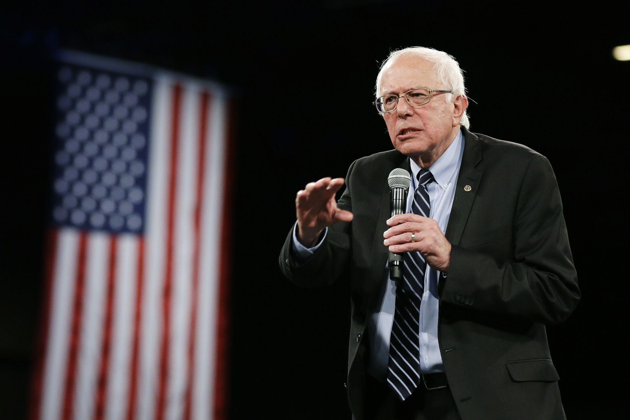 Dems Have Strong Disagreement On Social Security Sanders Says Bernie Sanders Keynote Sanders