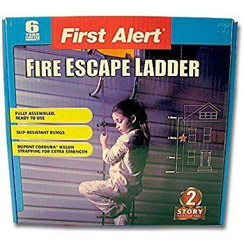 Best First Alert El52 2 Two Story Fire Escape Ladder Steel 400 x 300