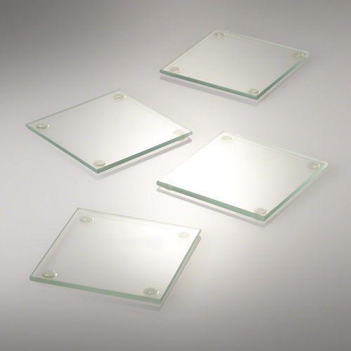 Eastland Square Glass Coasters 4 x 4 Inch Set of 72 #Eastland
