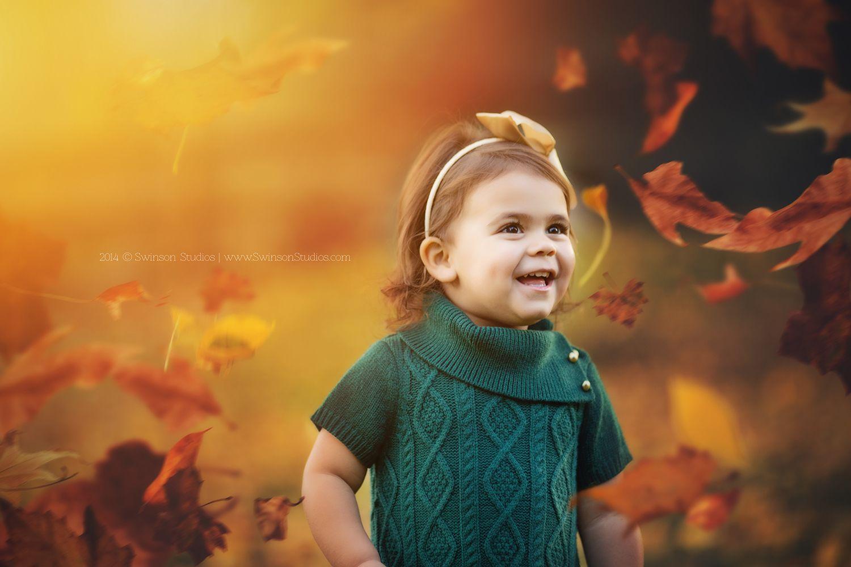 Denver CO Photographer - fall natural light photo - child portriature