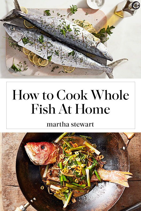 how to clean and cook a fish