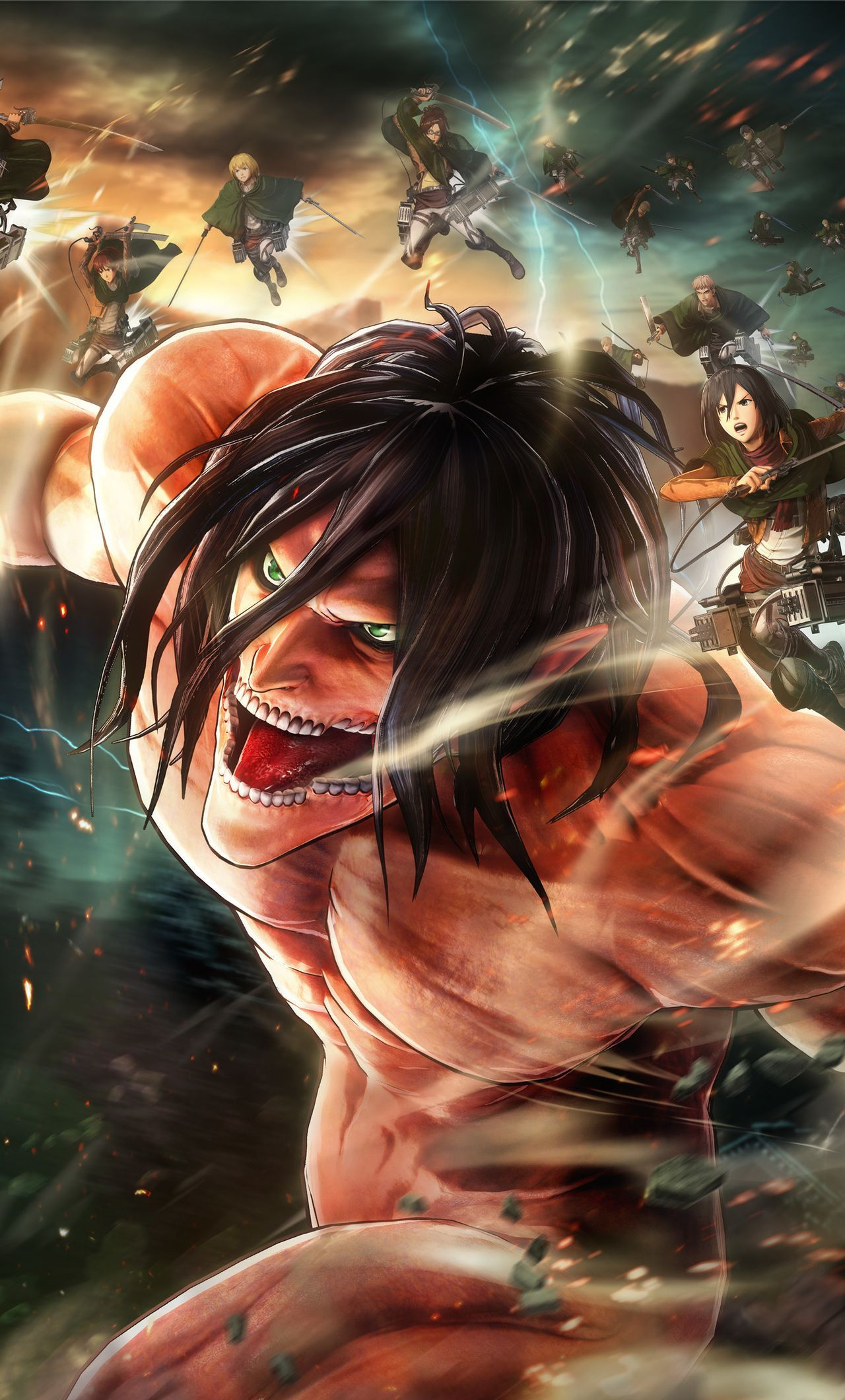 Download For Free On All Your Devices Computer Smartphone Or Tablet You Can Set Shingeki No K Attack On Titan Art Attack On Titan Anime Attack On Titan Fanart