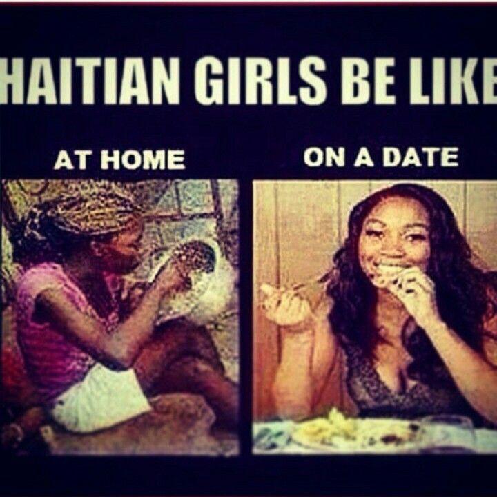 dating a haitian woman meme