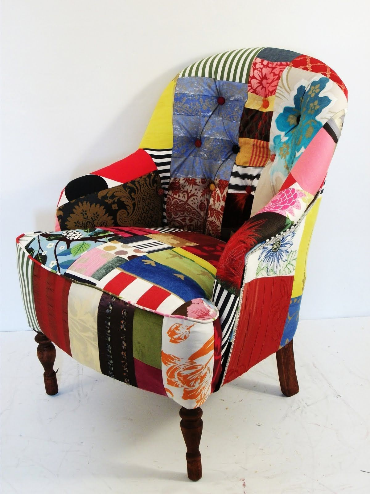 DIY Patchwork Chair