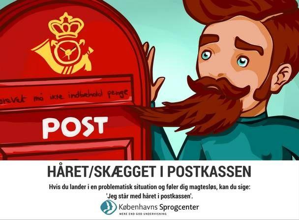 hvad betyder at få håret i postkassen