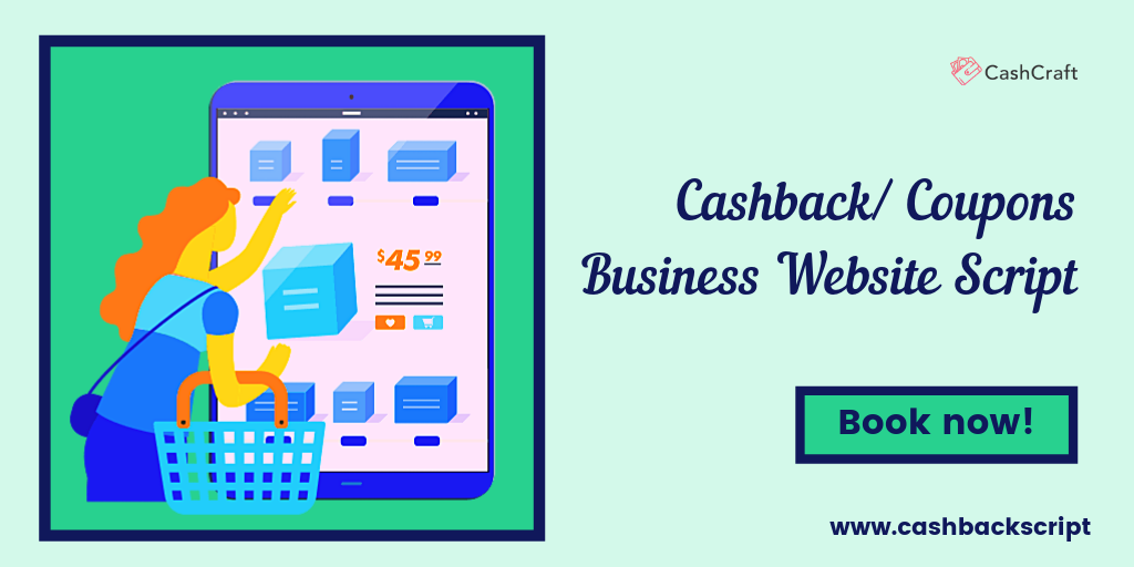 Start Your Cashback Business Website With Advanced Php Script Business Website Dynamic Solutions Business