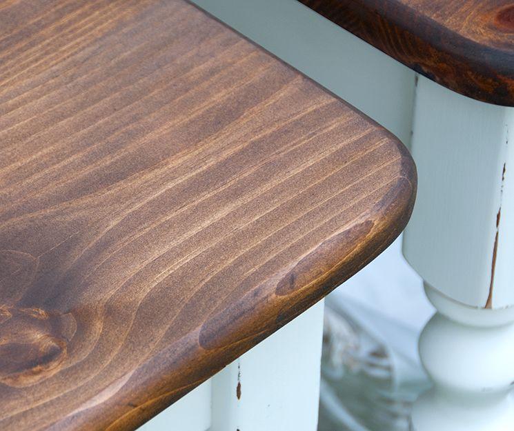Minwax Pecan Then Minwax Dark Walnut...LOVE The Color For Butcherblock  Countertops