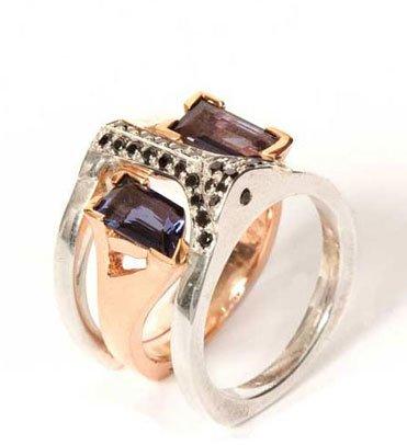 #bonadrag.com             #ring                     #Bliss #Iolite #Fathom #Limited #Ring               Bliss Lau Iolite Fathom Limited Ring Set                                      http://www.seapai.com/product.aspx?PID=434382