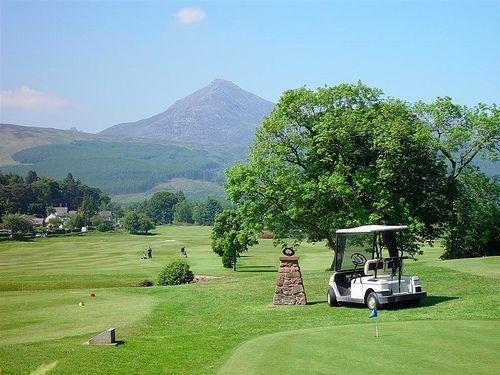 Brodick Golf Club | Golf in Scotland | Pinterest | Golf and Play golf