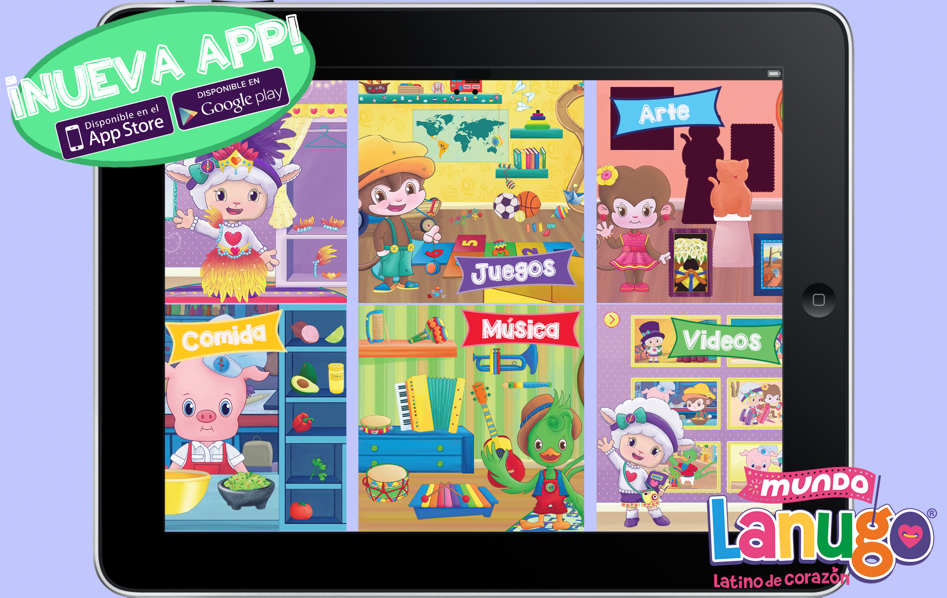 Spanish App for Kids to Teach Language and Culture