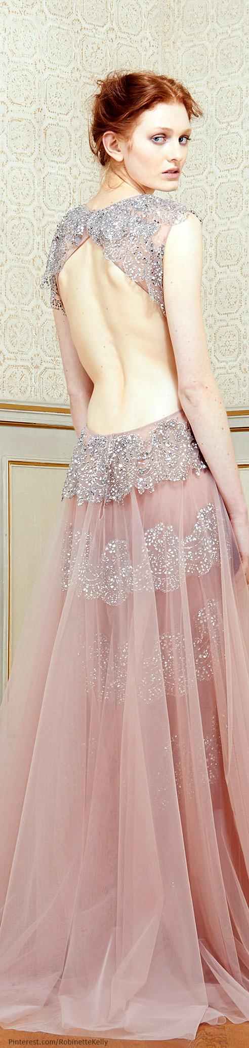 Rami Al Ali Couture   S/S 2014   fashion   Pinterest   Rosas, Alta ...