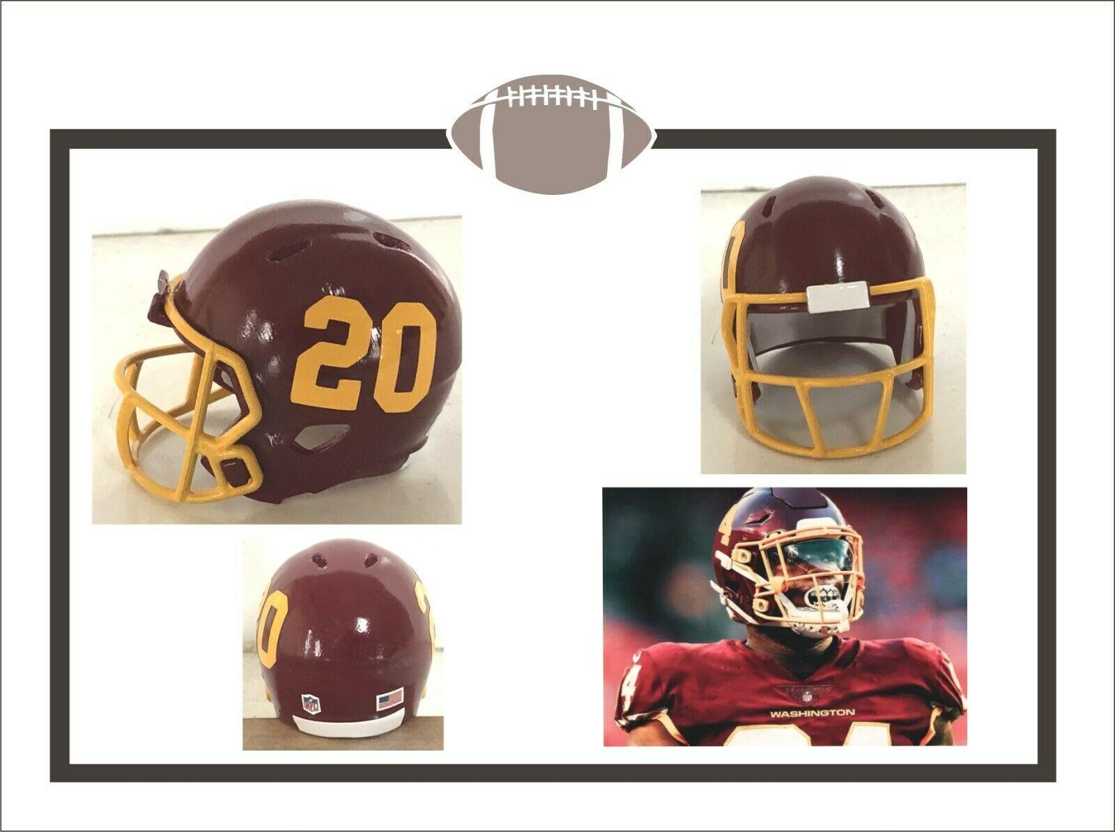 Custom New For 2020 Nfl Washington Football Team 2 Pocket Pro Football Helmet Ebay In 2020 Football Helmets Washington Football Football Team