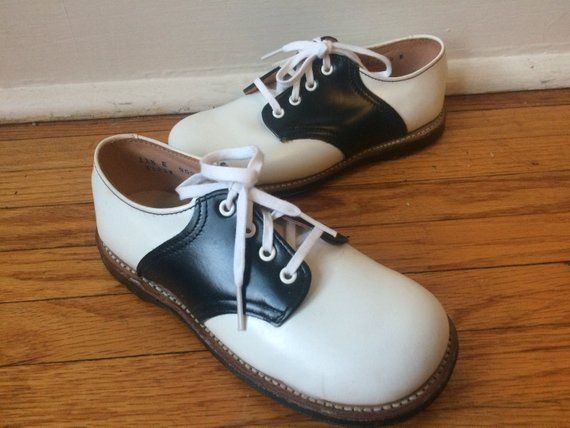 958f17284775c Vintage mint condition, new-old-stock vintage saddle shoes, perfect ...