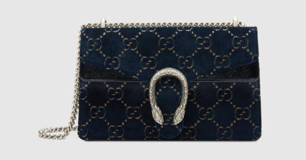 ed861909c01 Dionysus GG velvet small shoulder bag - Gucci Women s Shoulder Bags  4002499JTIB4161
