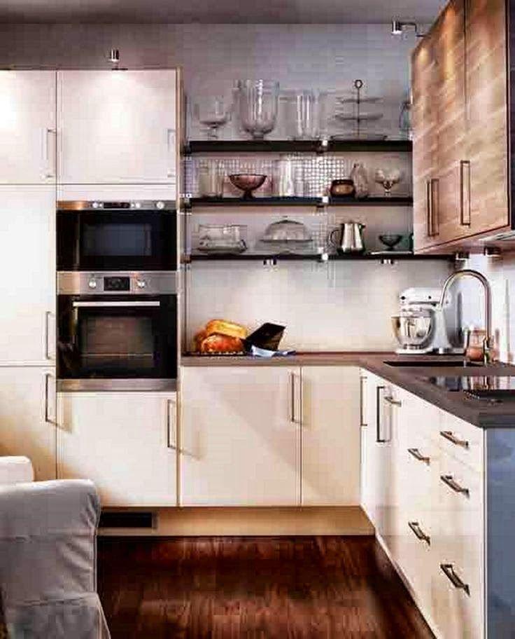 53 Decor And Storage Ideas For Tiny Kitchens Kitchen Cabinet Design Kitchen Layout Modern Kitchen Design