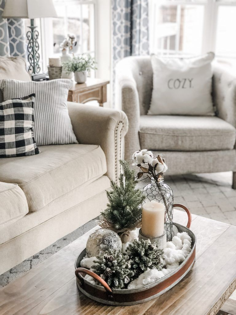 Photo of Cozy Winter Living Room Decor! The perfect transition after Christmas! | Wilshire Collections