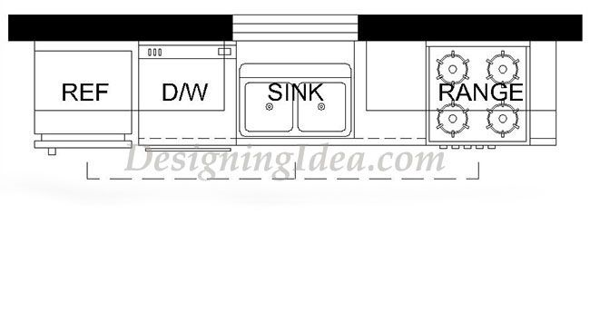 29 Gorgeous One Wall Kitchen Designs Layout Ideas One Wall