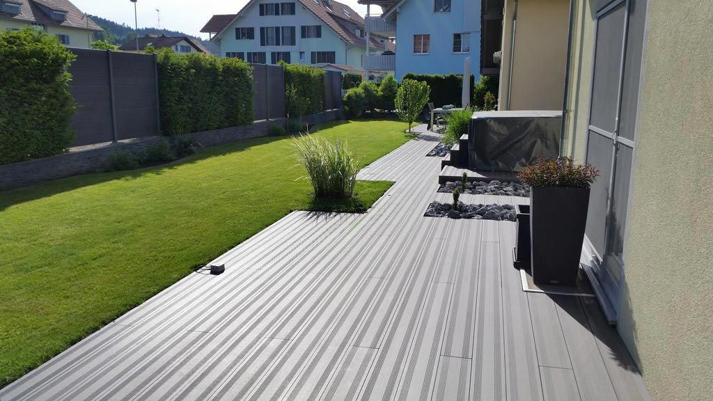 Anti Skid Decking Material Above Ground Deck Concrete And Fencing Ideas Outdoor Flooring Option Dec Deck Building Cost Building A Deck Outdoor Living Deck