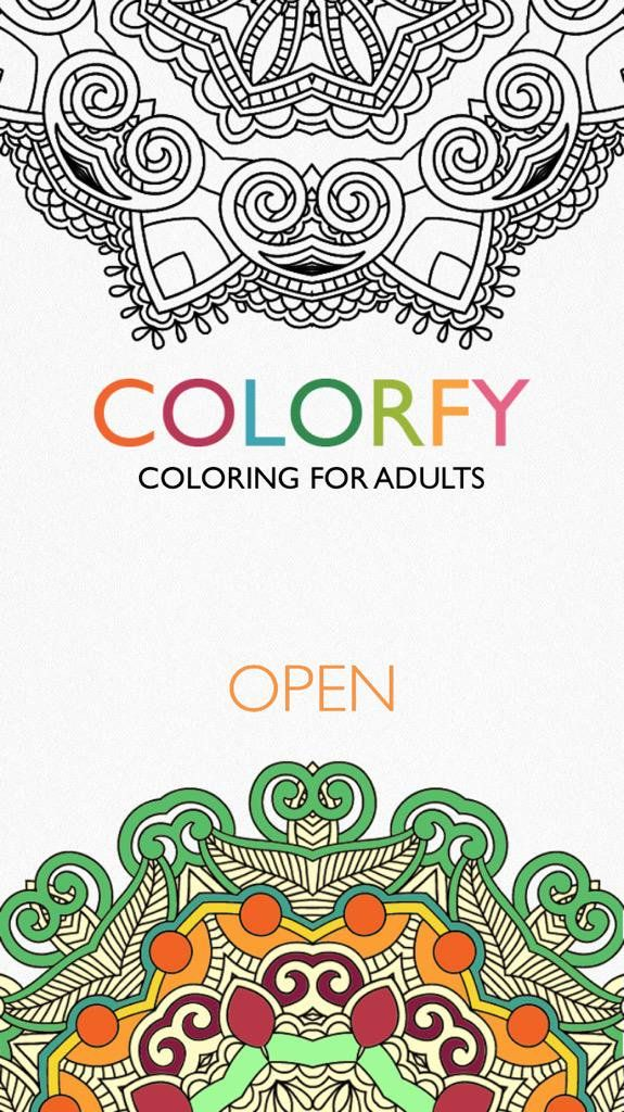 Colorfy Official Colorfyapp On Twitter Coloring Books Coloring Book App Colorfy
