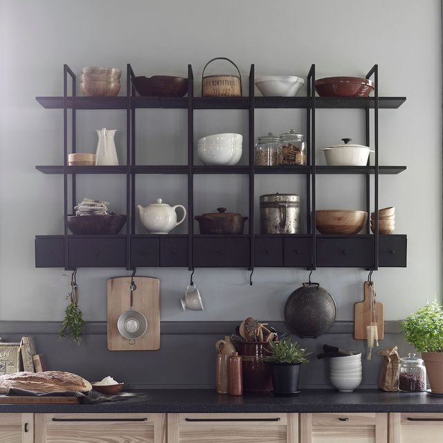 Ikea 10 Nouveautes Du Moment Etagere Murale Cuisine Etagere Cuisine Cuisine Rustique Chic