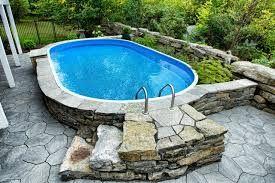 image result for semi inground pool designs back 40 pinterest garten. Black Bedroom Furniture Sets. Home Design Ideas