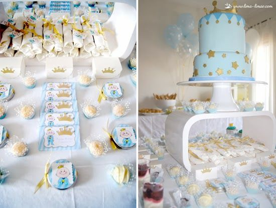 Prince Theme Baby Shower   Baby Shower Ideas And Shops Via Baby Shower Ideas  For Boy Or Girl