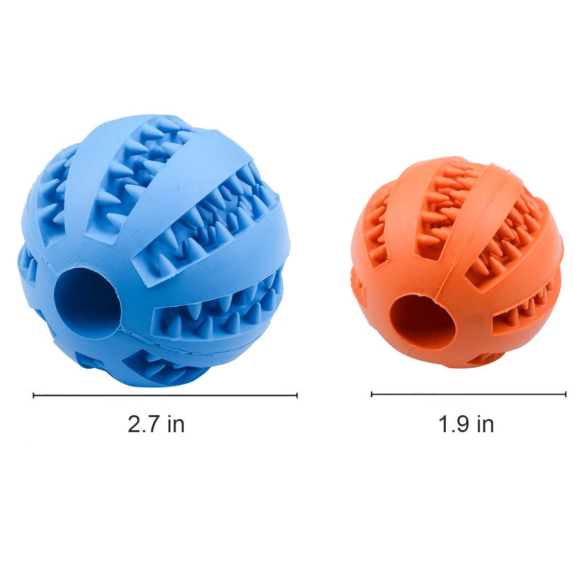 Opii Dog Toy Ball Toy Ball For Pet Dog Ball Teeth Cleaning Rubber