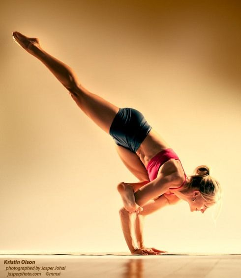 Flying Crow Pose-- You can do it!