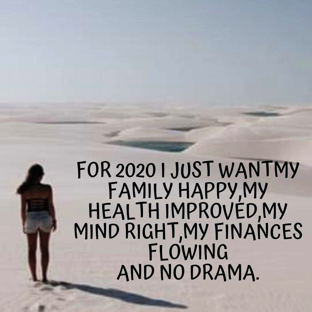 year new you quotes mottos 2020 New year new you quotes mottos 2020: For 2020 I just want my family
