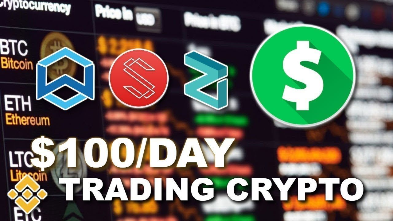 How To Day Trade Cryptocurrency On Binance 100 a Day