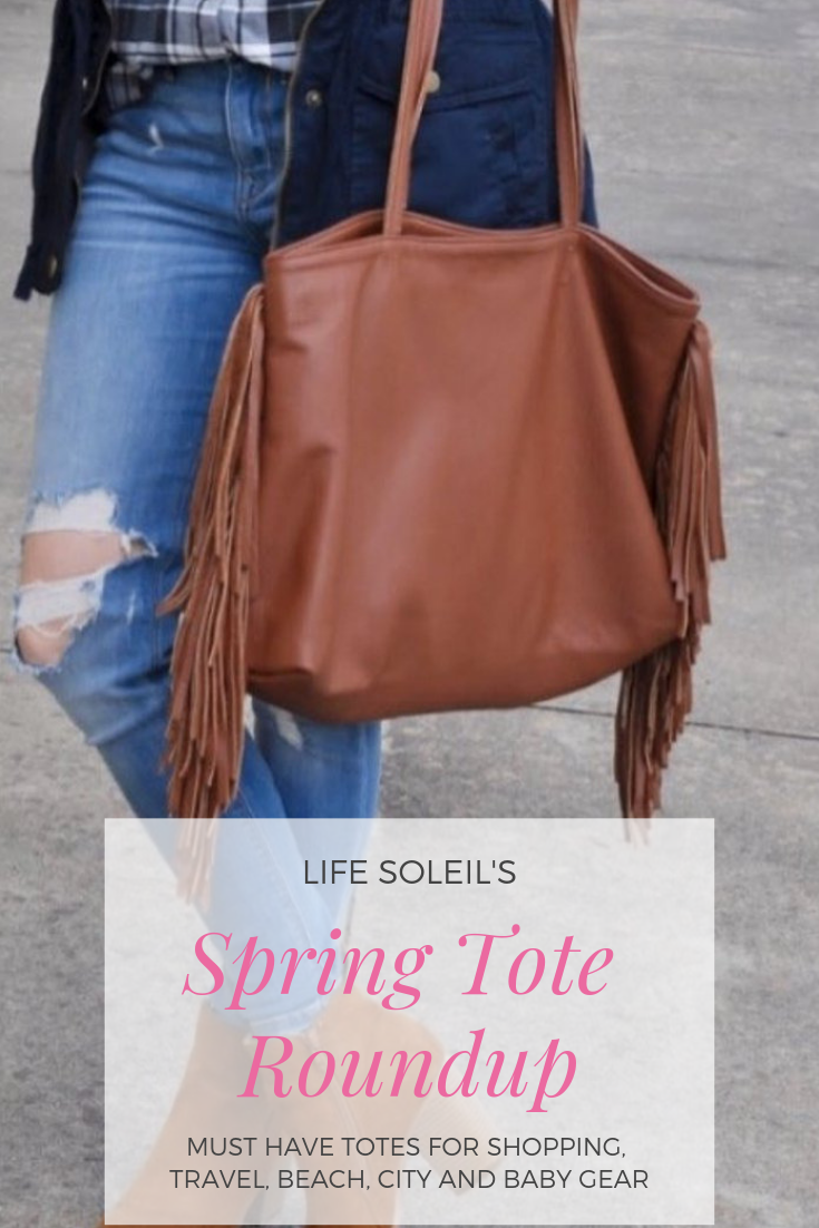 *Amp up your casual style with this spacious fringe tote! We have the perfect tote for you for chic...