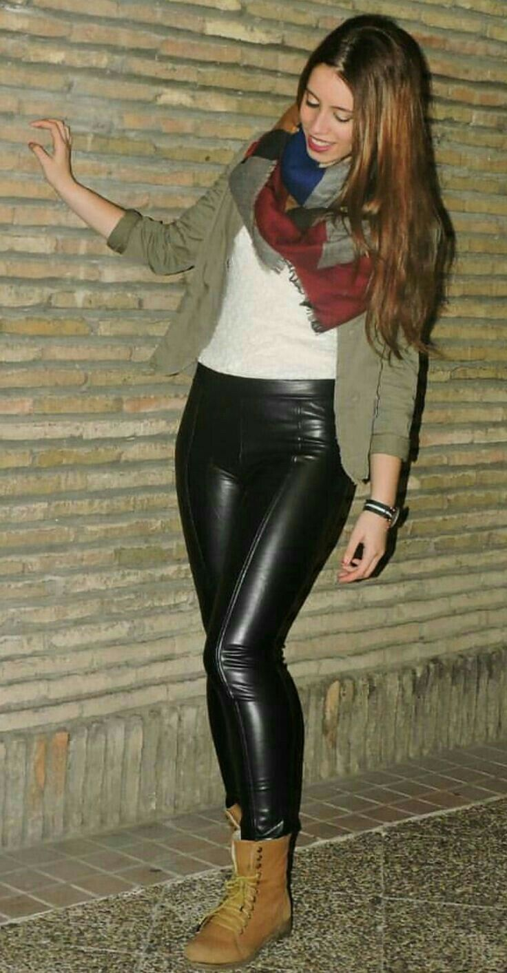 Lederlady ❤ | Outfits featuring leather pants | Pinterest ...