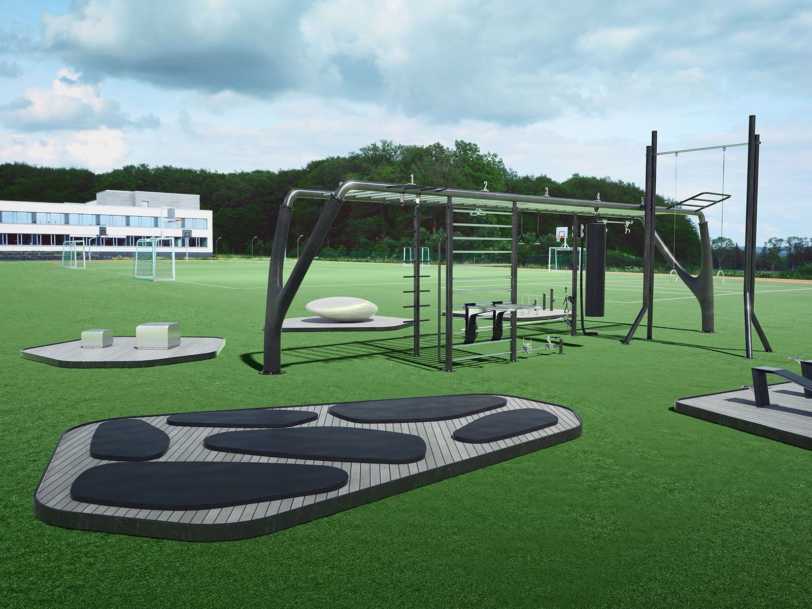 Myequilibria Outdoor Fitness Backyard Obstacle Course Outdoor Workouts Outdoor