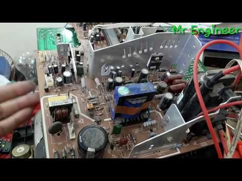 how to discharge the picture tube - YouTube   Electronic