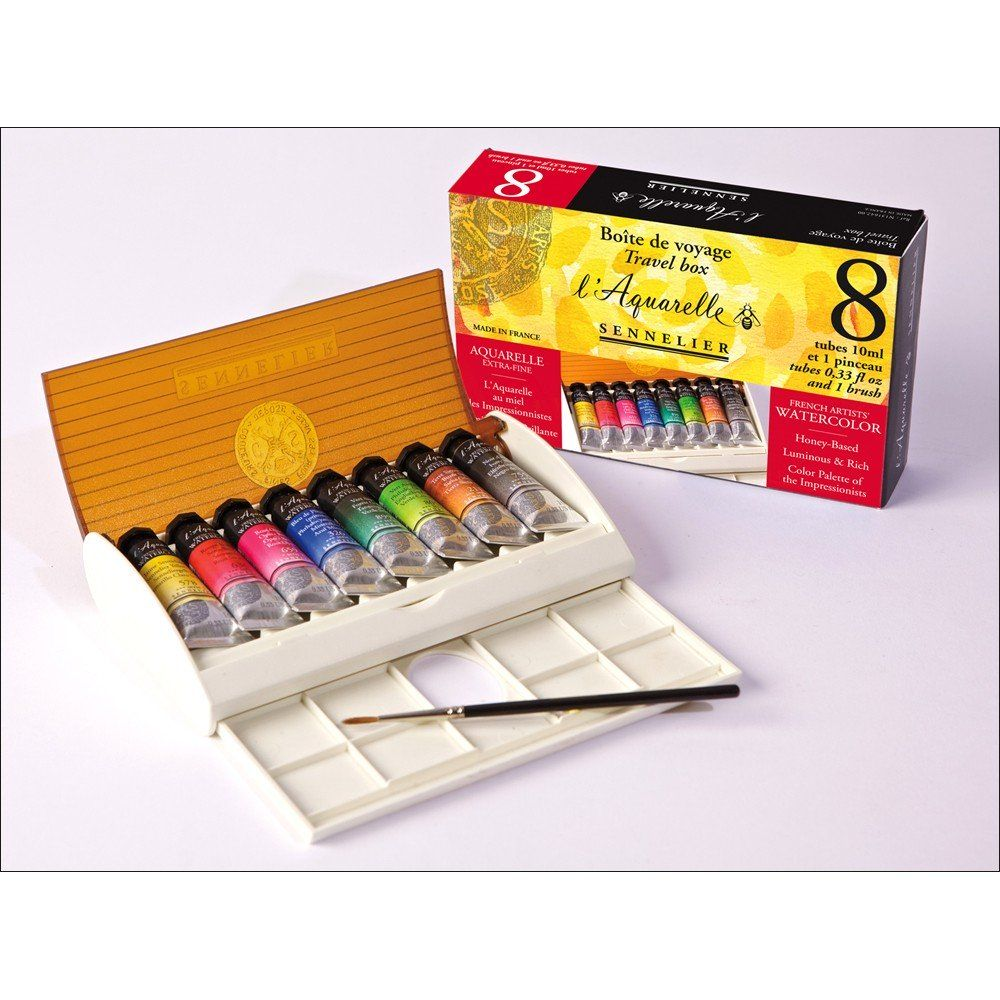 Sennelier Watercolor Sets L Aquarelle French Artists Jerry S