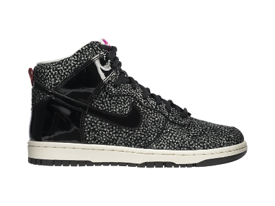 new concept 0b90a 8f34a Nike Dunk High Skinny Print Womens Shoe