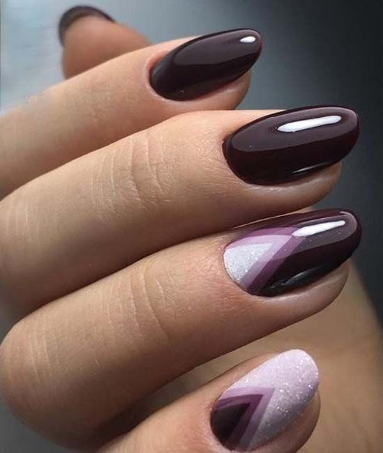 Dazzling Dark Purple Nail Art Designs 2018 - Dazzling Dark Purple Nail Art Designs 2018 Pinterest Dark Purple
