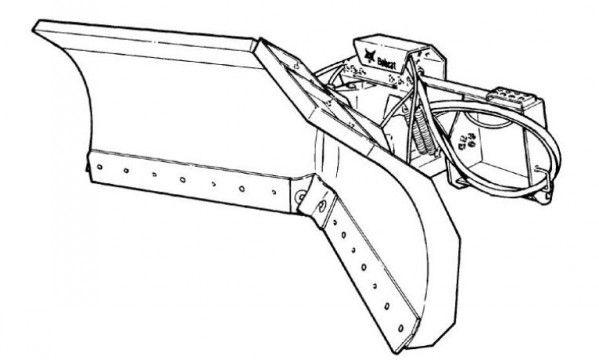 Bobcat V-Blade 60 Service Repair Manual S/N 083800101 AND