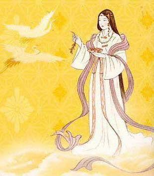 「日本の神話の画像 天照大神」の画像検索結果