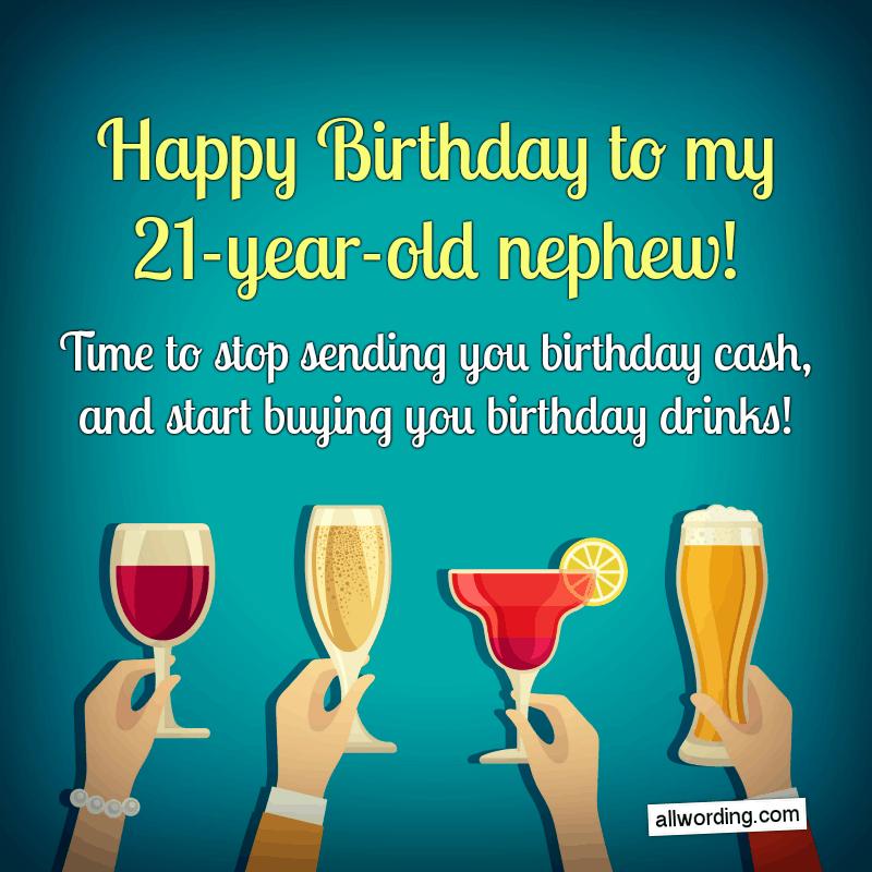Happy Birthday Nephew 35 Birthday Wishes For Your Dear Nephew In