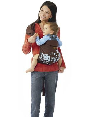 e0c74a75755 Scootababy or other hip carrier. Ellaroo Mei Hip - Mango-Mahogany