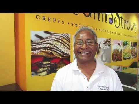 Franchisee Testimonial BannaStrow's Crepes and Coffee