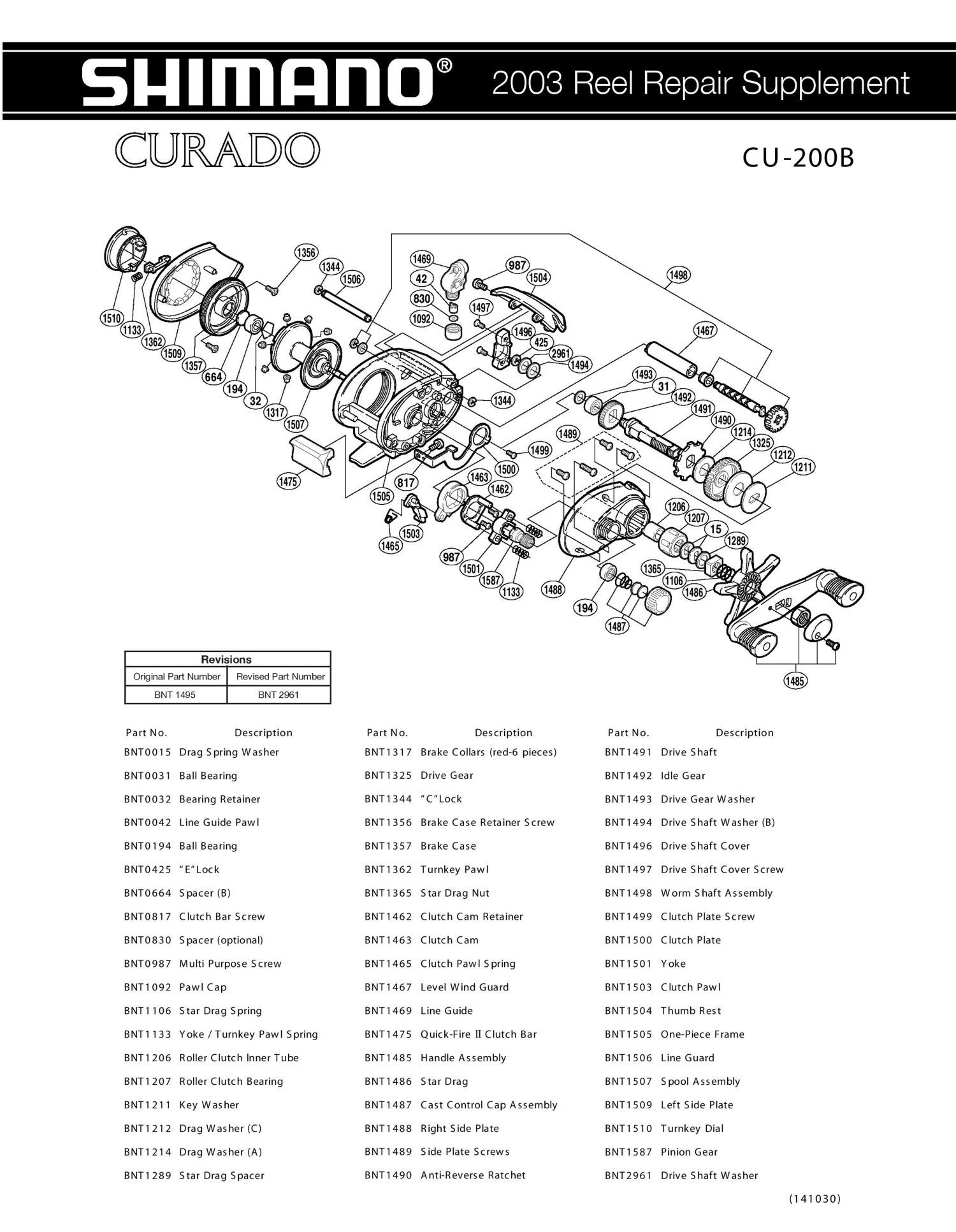 Sophisticated Shimano Calcutta 400 Parts Diagram Contemporary - Best ...