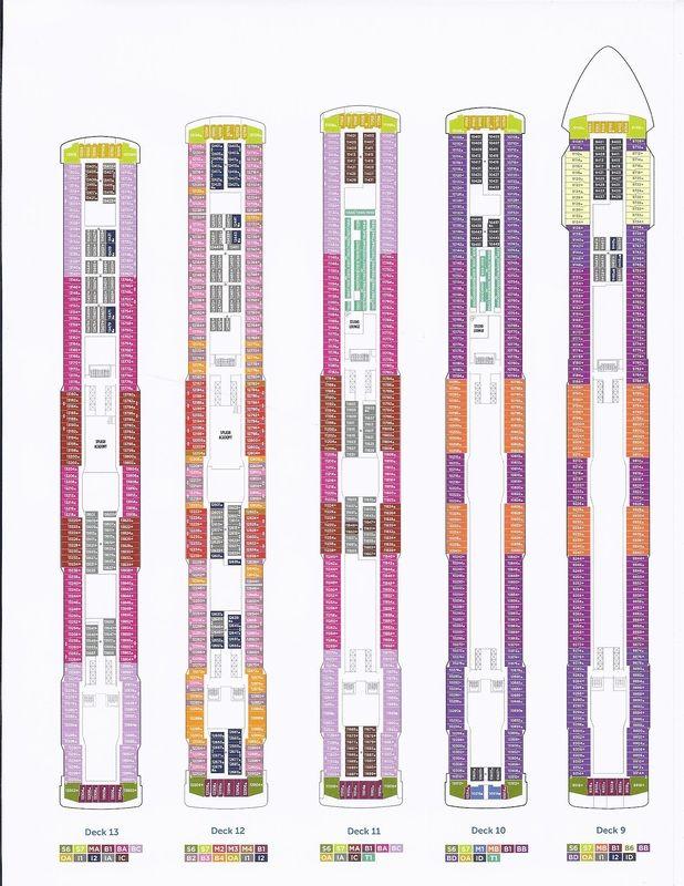 Norwegian Breakaway Deck Plans With Images Deck Plans Deck